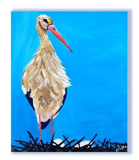 Stork of Crete