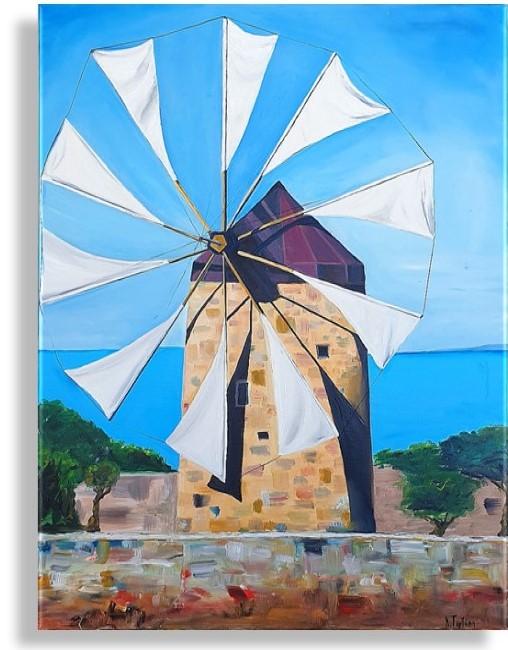 Windmill of Crete