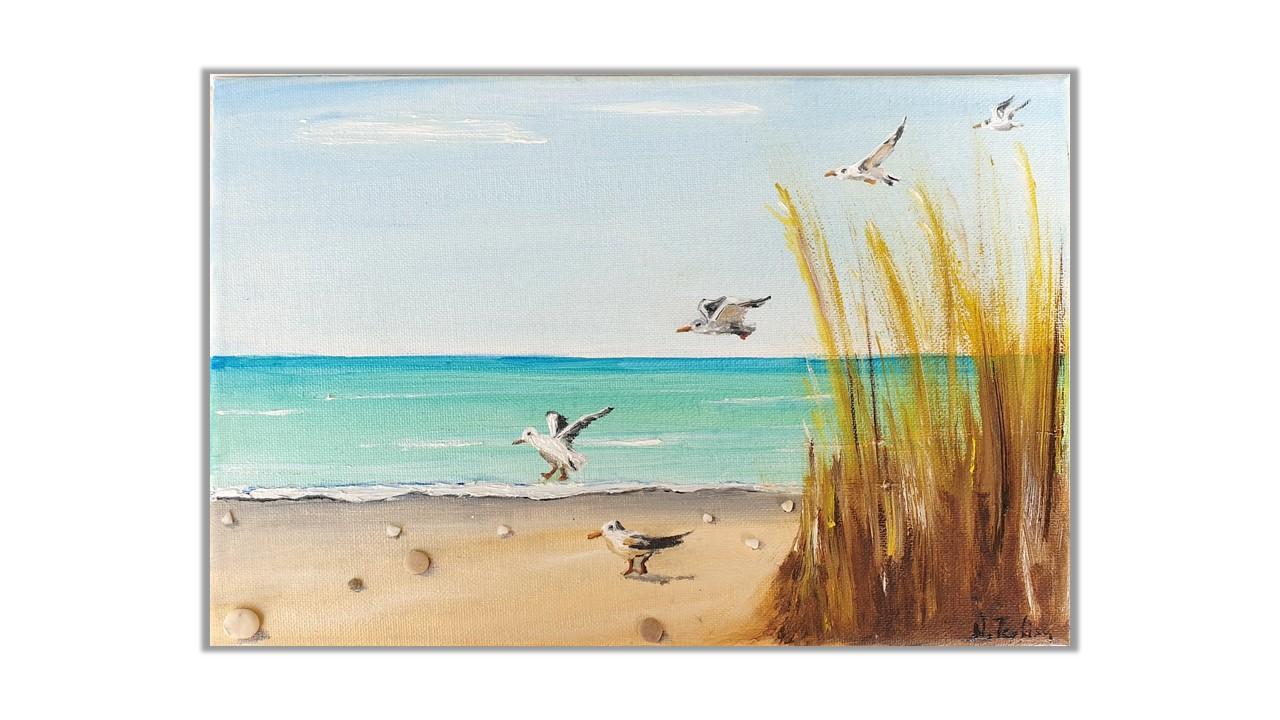 Seagulls, a movement study